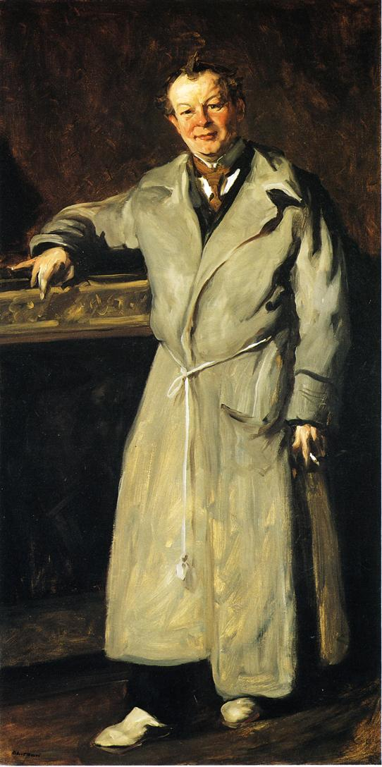 George Luks | Robert Henri | oil painting