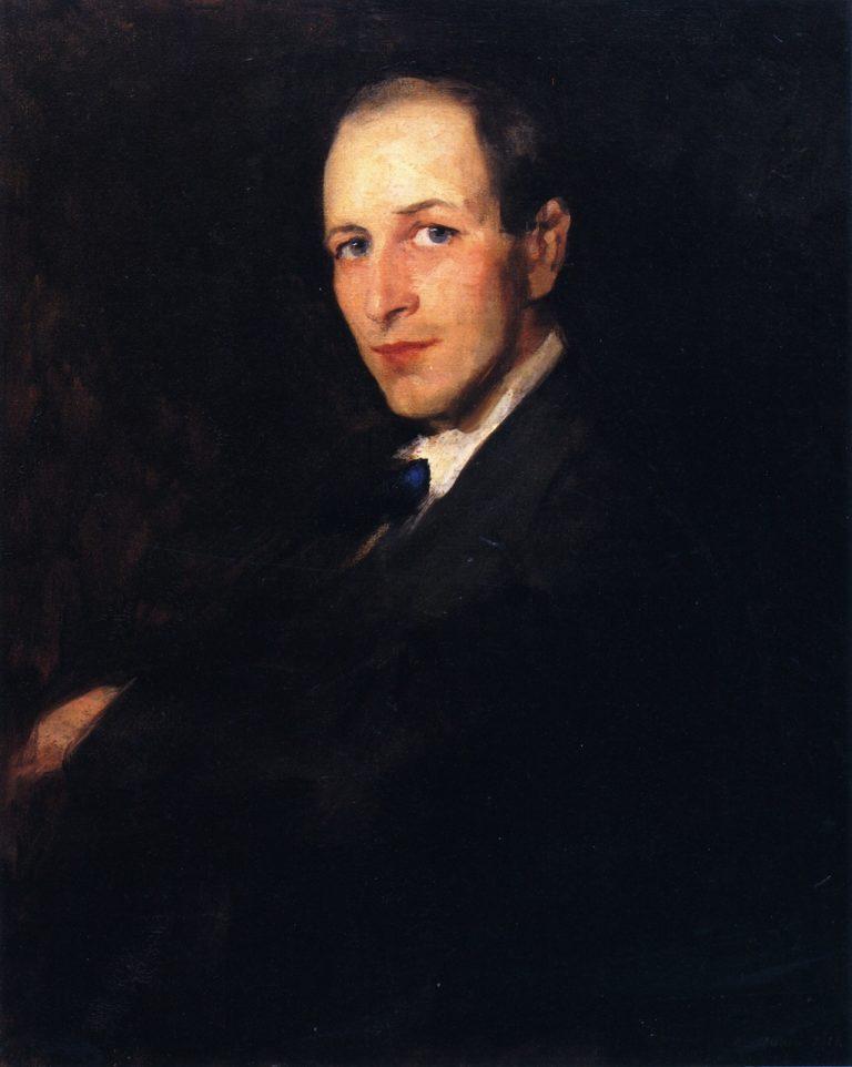 George Wesley Bellows   Robert Henri   oil painting