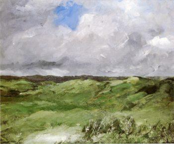 Gray Dunes   Robert Henri   oil painting