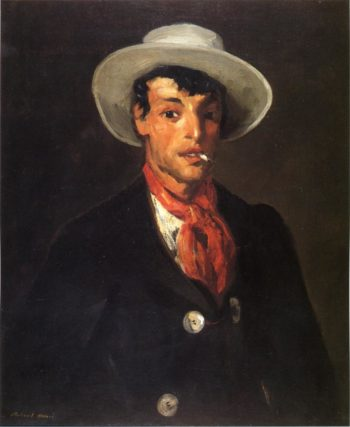 Gypsy with Cigarette   Robert Henri   oil painting