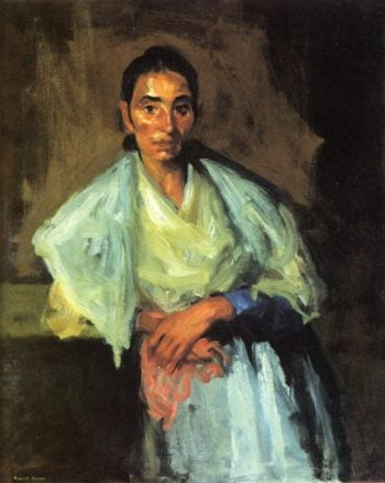Gypsy | Robert Henri | oil painting