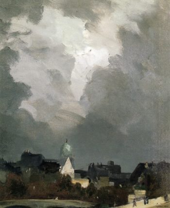 In Amsterdam | Robert Henri | oil painting