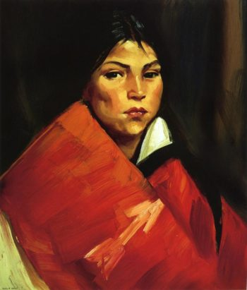 Indian Girl | Robert Henri | oil painting