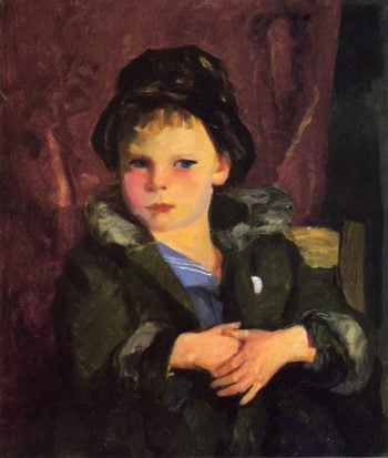 Irish Boy | Robert Henri | oil painting