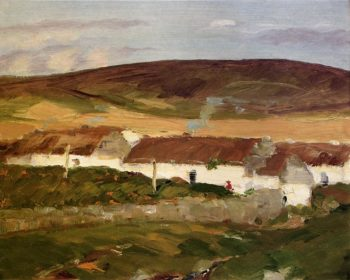 Irish Cottage | Robert Henri | oil painting