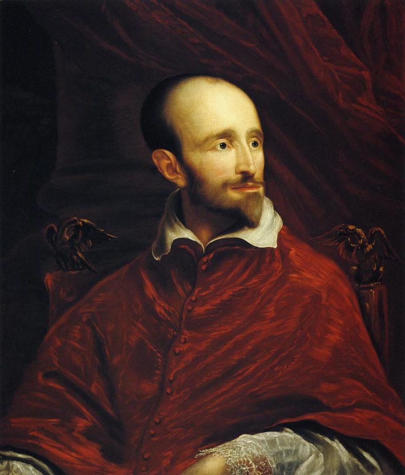 Cardinal Guido Bentivoglio   John Smibert   oil painting