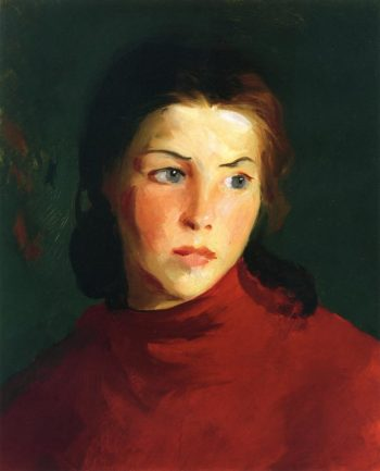 Irish Girl | Robert Henri | oil painting