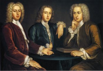 Daniel Peter and Andrew Oliver | John Smibert | oil painting