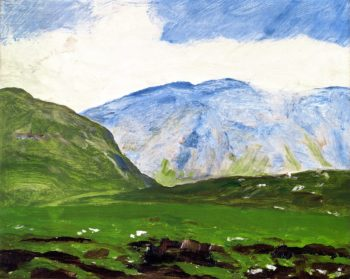 Irish Landscape | Robert Henri | oil painting