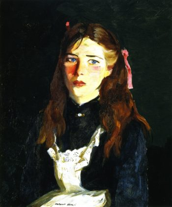 Irish Lass | Robert Henri | oil painting
