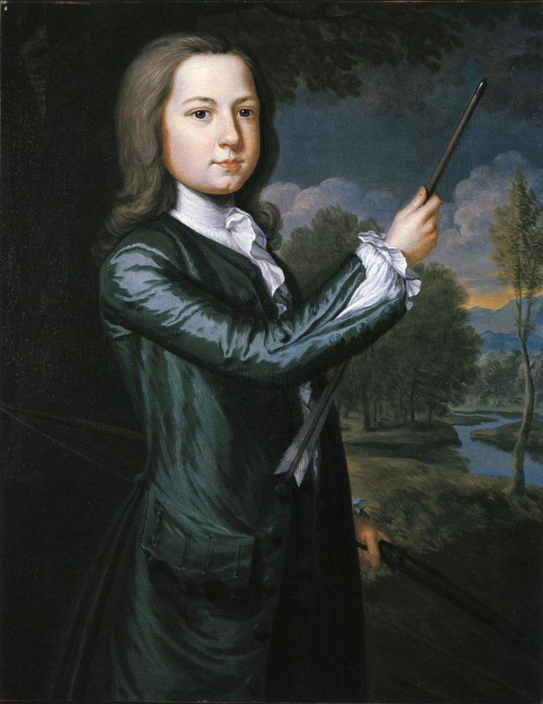 James Bowdoin II   John Smibert   oil painting