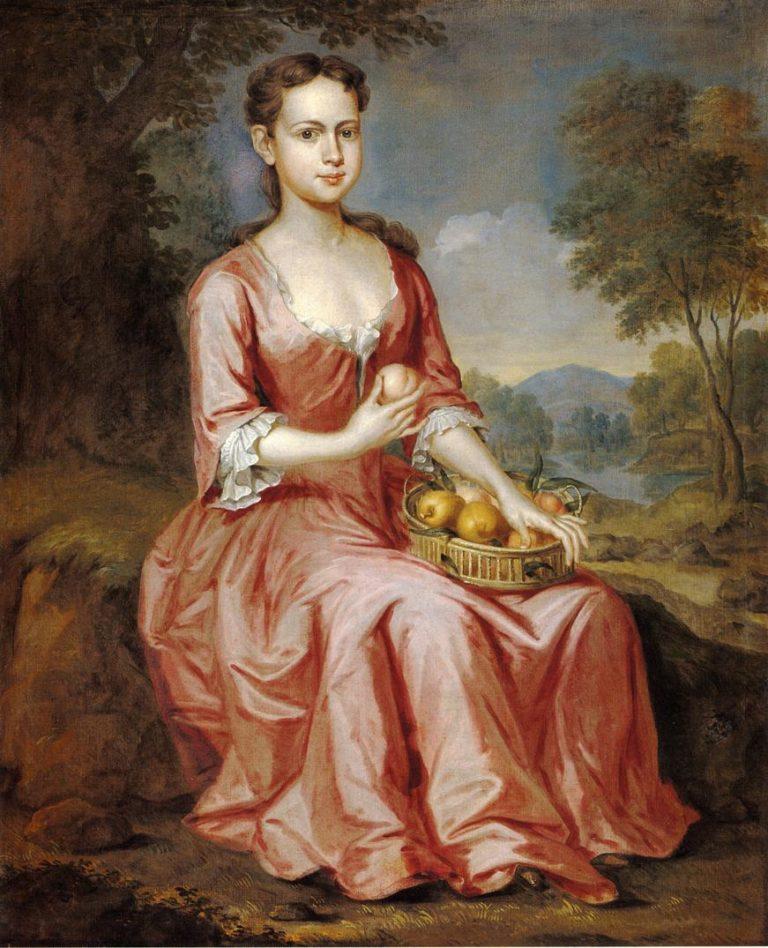 Jane Clark   John Smibert   oil painting