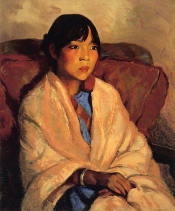 Julianita | Robert Henri | oil painting