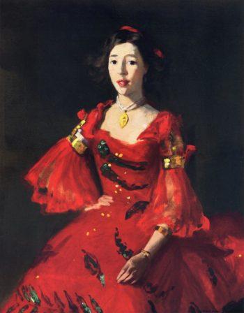 La Madrelenita | Robert Henri | oil painting
