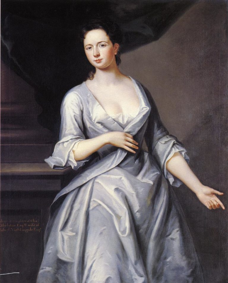 Mrs Edward Nightingale | John Smibert | oil painting