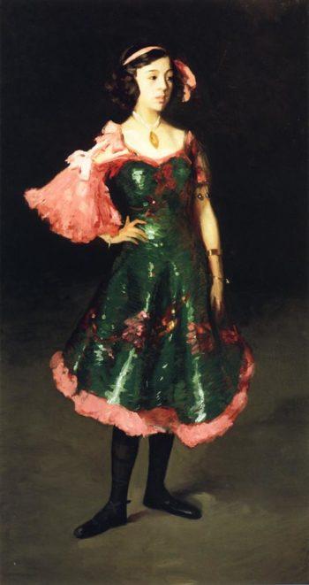 La Madrilenita | Robert Henri | oil painting