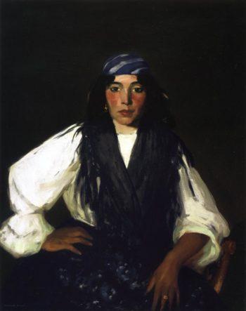La Mora | Robert Henri | oil painting
