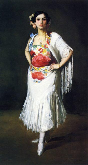 La Reina Mora | Robert Henri | oil painting