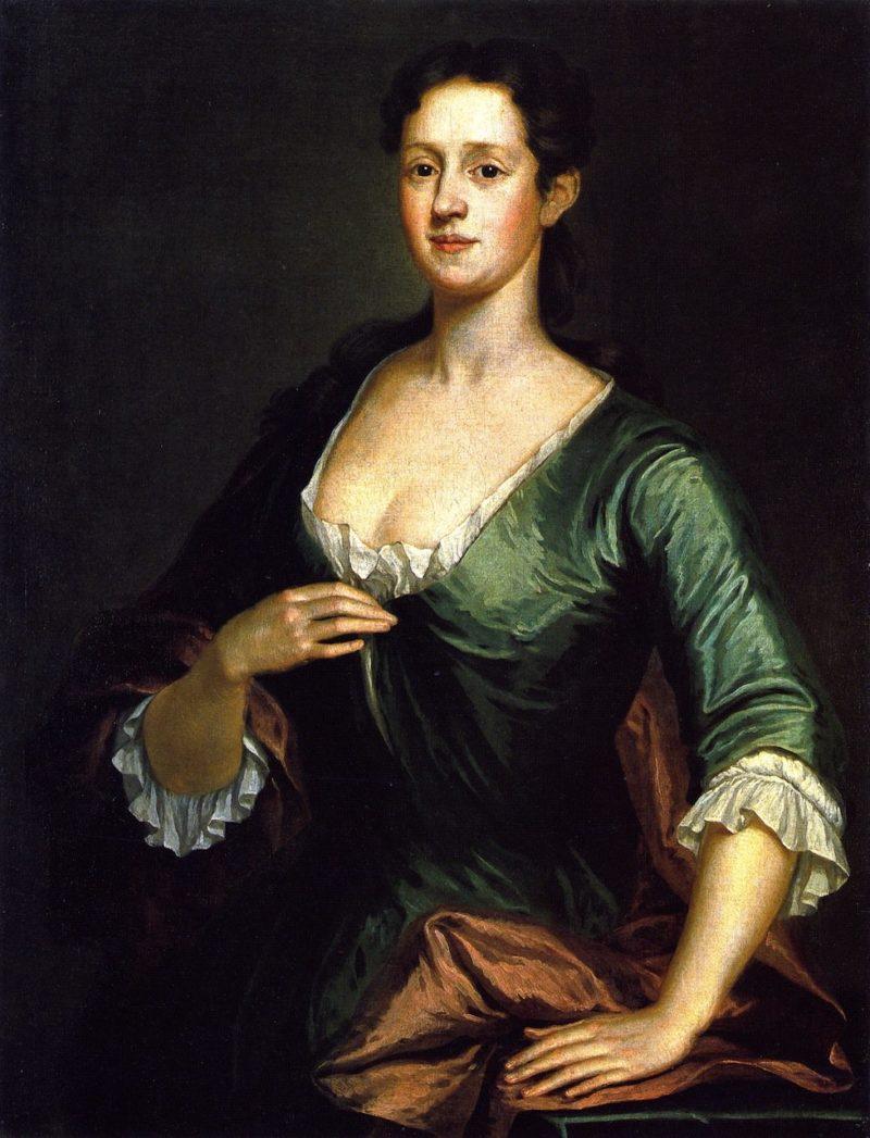Mrs John Ervin   John Smibert   oil painting
