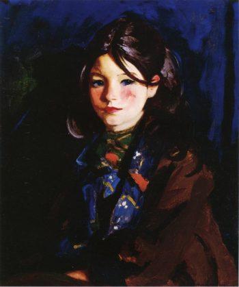 Letecia | Robert Henri | oil painting