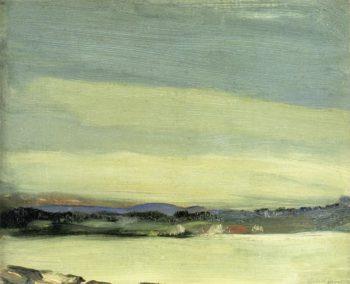 Leunkin Bay June | Robert Henri | oil painting