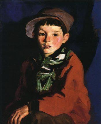 Listening Boy | Robert Henri | oil painting
