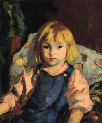 Little Carl | Robert Henri | oil painting