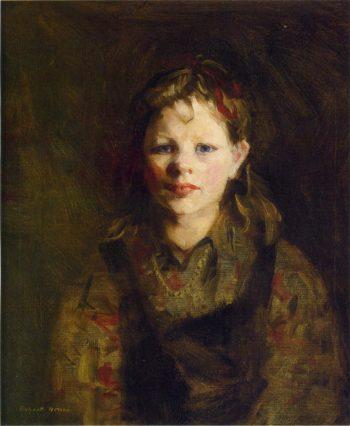 Little Dutch Girl | Robert Henri | oil painting