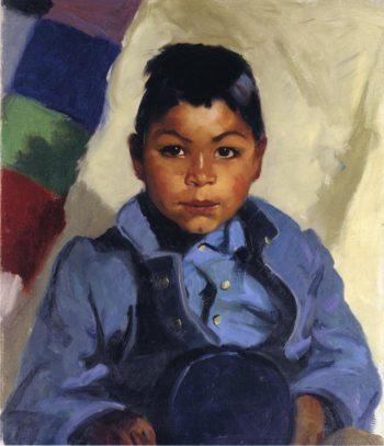 Little Indian | Robert Henri | oil painting