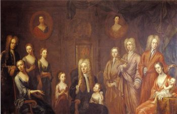 Sir Francis Grand and His Family | John Smibert | oil painting