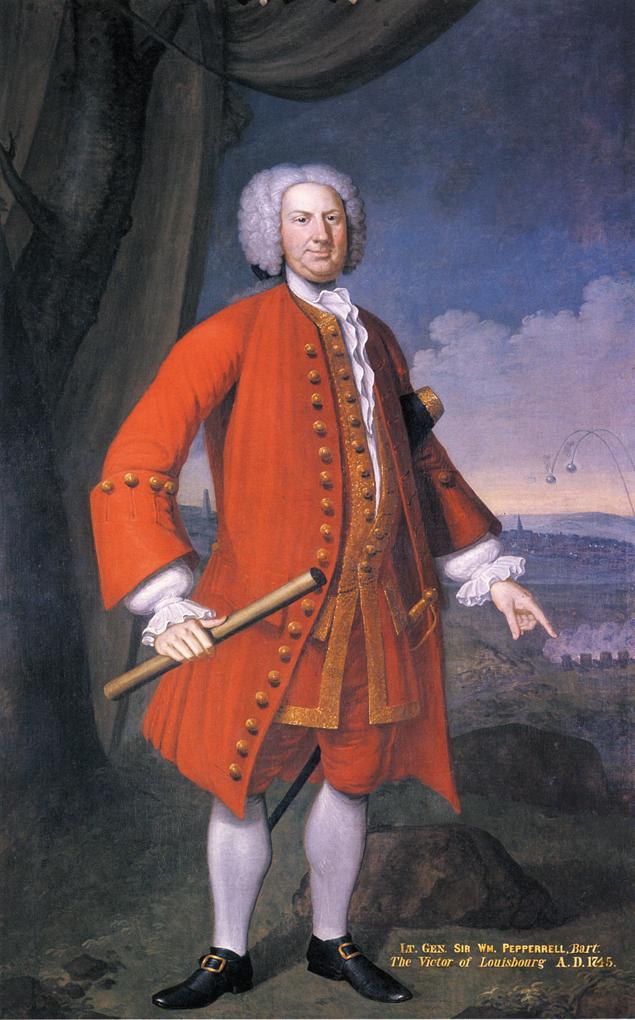 Sir William Pepperrell | John Smibert | oil painting