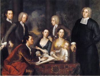 The Bermuda Group | John Smibert | oil painting