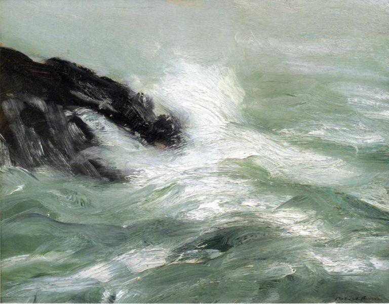 Marine Storm Sea | Robert Henri | oil painting