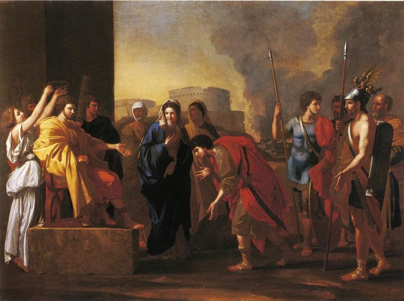 The Continence of Scipio | John Smibert | oil painting