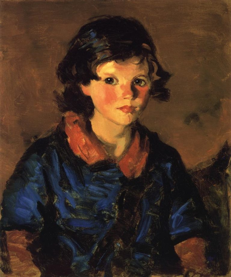 Mary Ann Caferty | Robert Henri | oil painting