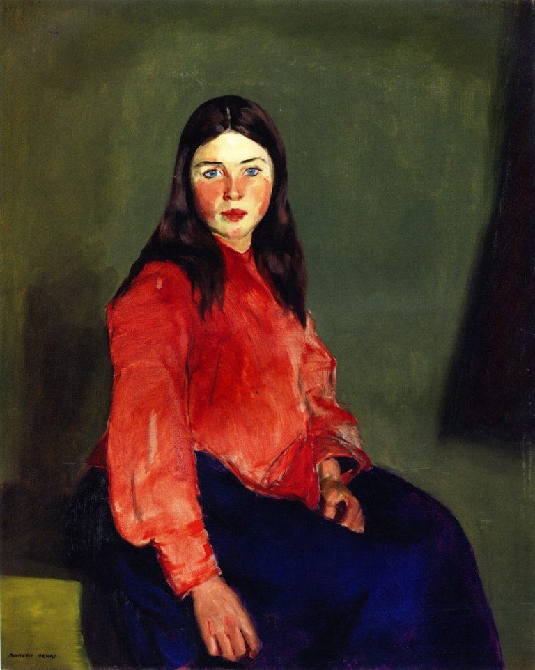 Mary of Connemara   Robert Henri   oil painting