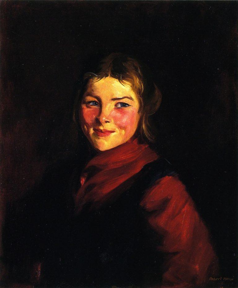 Mary | Robert Henri | oil painting
