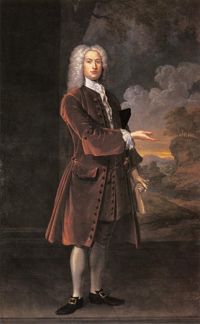 William Browne   John Smibert   oil painting