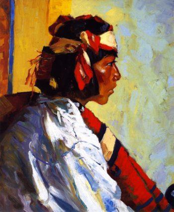 Miguel of Tesuque | Robert Henri | oil painting