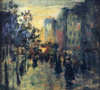 Misty Effect Paris | Robert Henri | oil painting
