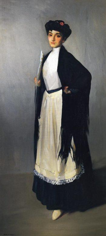 Modiste of Madrid | Robert Henri | oil painting