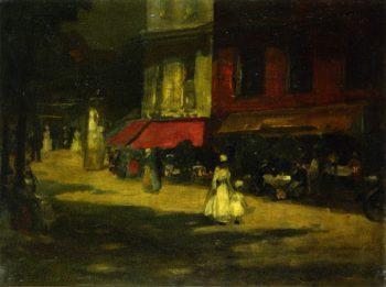 Montparnasse | Robert Henri | oil painting