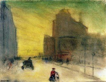 Morning Reflections | Robert Henri | oil painting