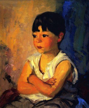 Nelson | Robert Henri | oil painting