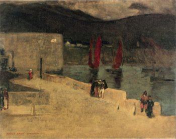 Nocturne | Robert Henri | oil painting