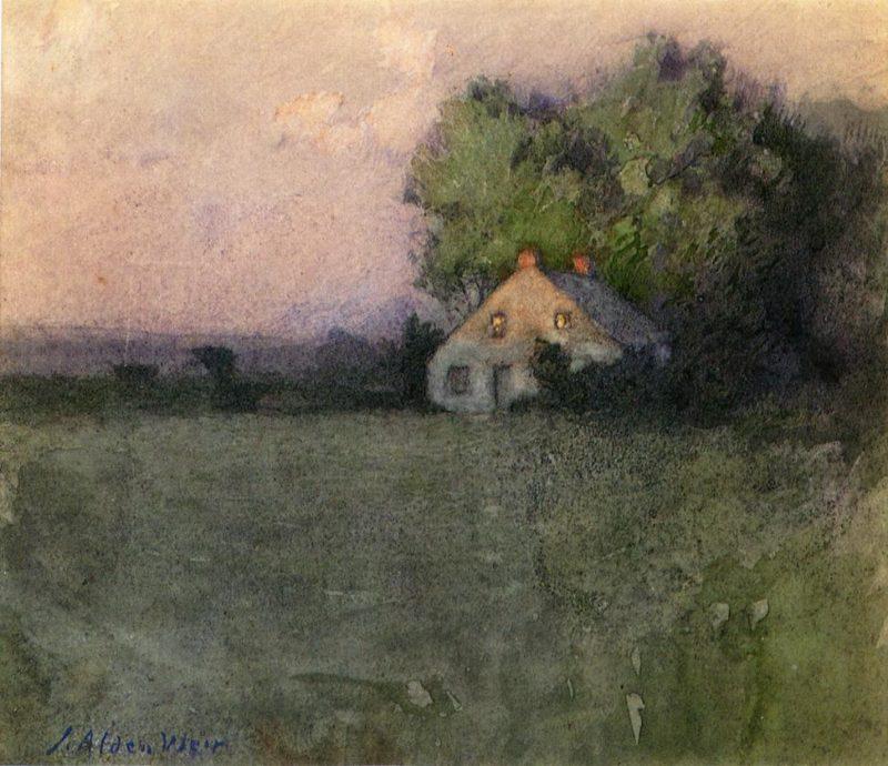 Branchville Connecticut | Julian Alden Weir | oil painting