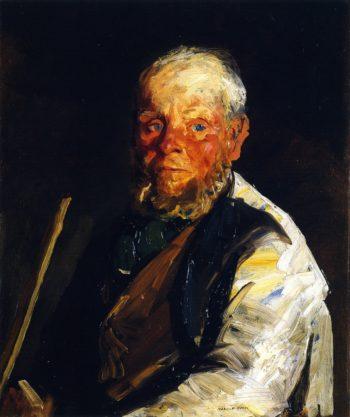 Old Johnnie | Robert Henri | oil painting