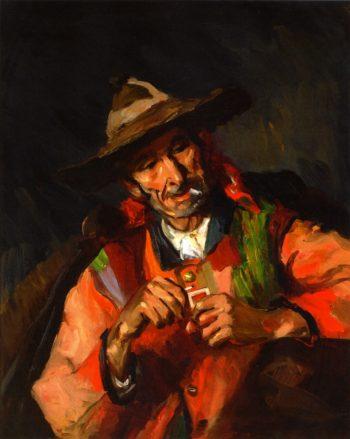 Old Spaniard Lagartija Florencio Rodriques | Robert Henri | oil painting