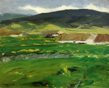 O'Malley Home | Robert Henri | oil painting