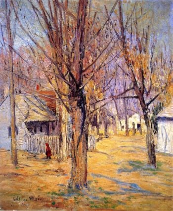 Connecticut Village | Julian Alden Weir | oil painting